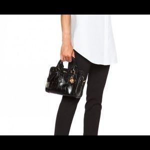 Alexander McQueen Grey Skull Mini bag Authentic